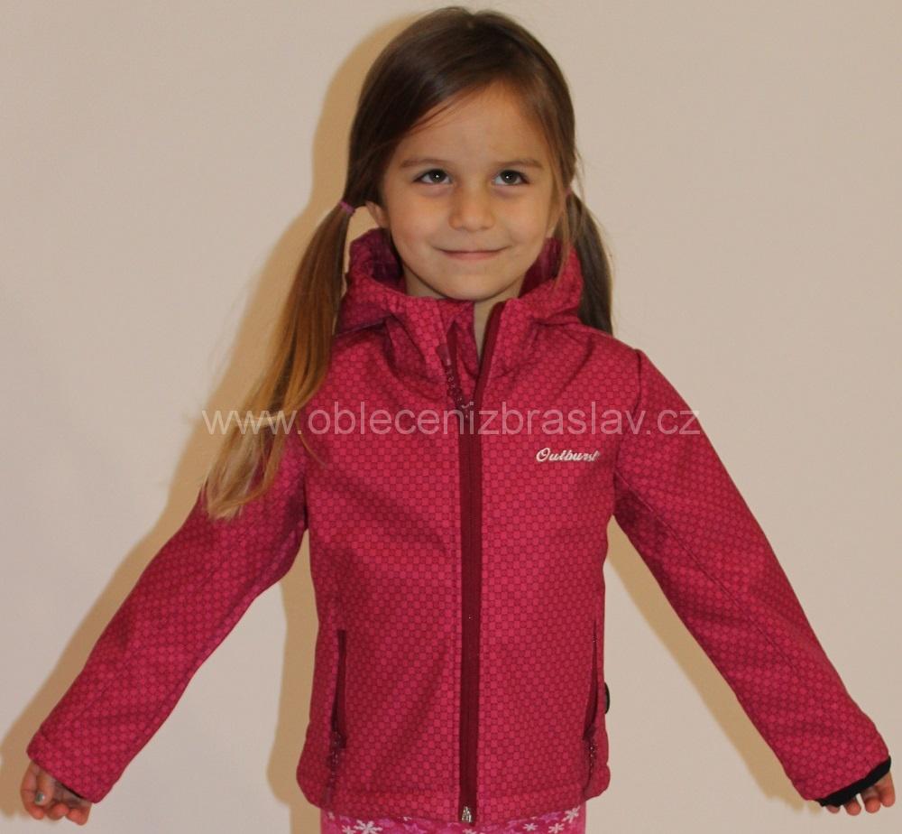 Ddívčí softshellová bunda Nickel Sportswear