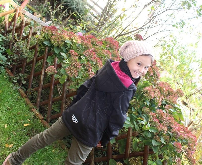 Dívčí softshellová bunda NICKEL SPORTSWEAR