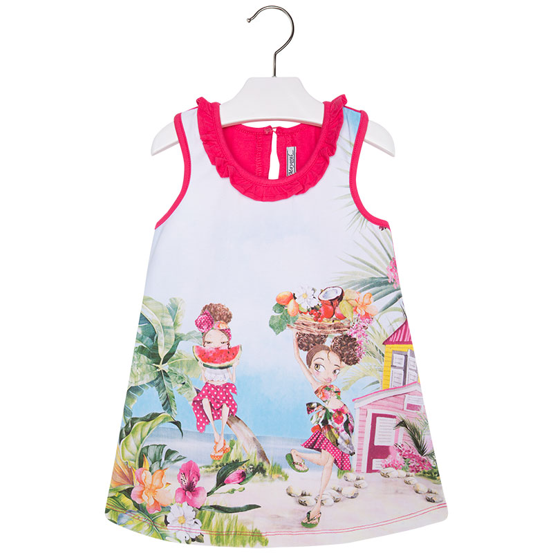 Dívčí šaty Mayoral ve.92,122