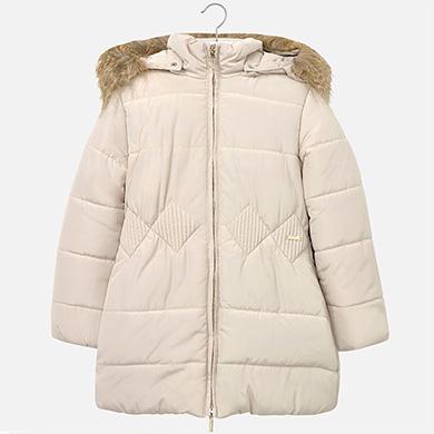 Dívčí zimní kabátek - bunda Mayoral
