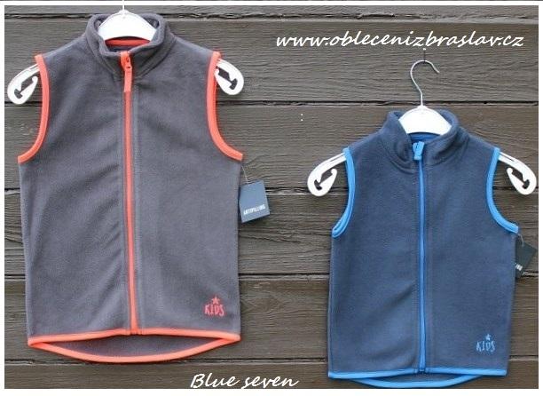 Dětské vesta Blue seven- SLEVA