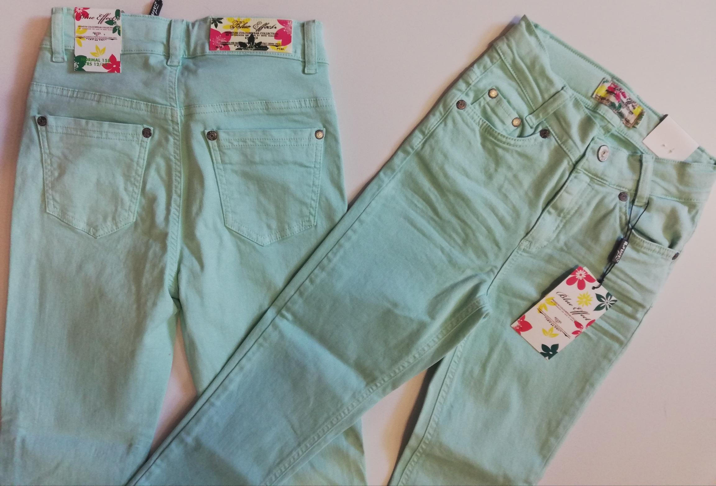 Dívčí kalhoty Blue effect vel. 140