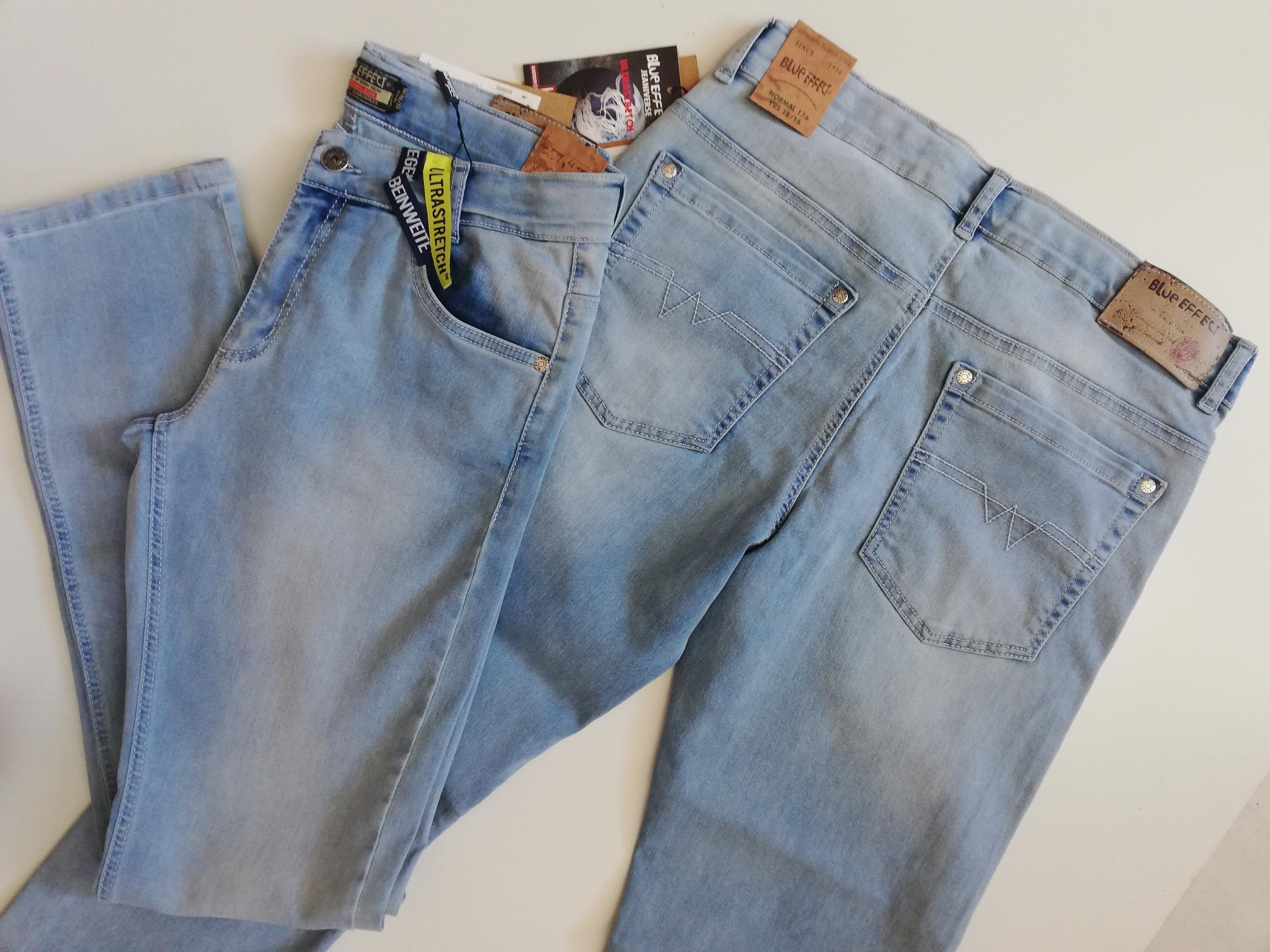 Dívčí džíny Blue effect velikosti 140,146,158