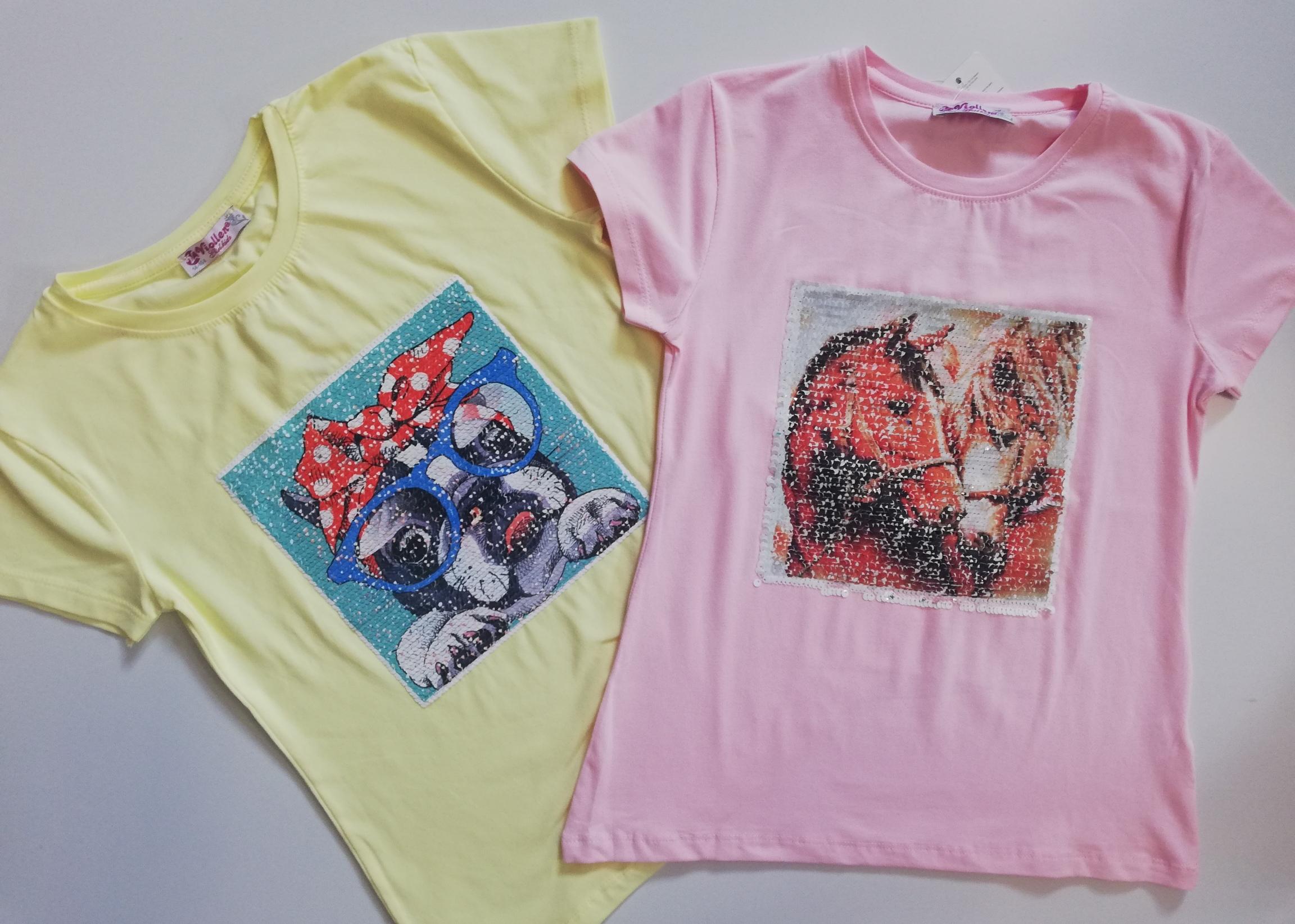 6f0bafc00d75 Dívčí tričko velikosti 128 až 164