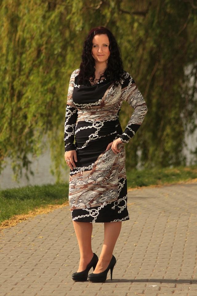 Dámské šaty Andrea Martiny - Sleva