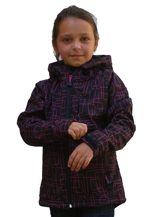 Dívčí softshellová bunda -vel.140- velká sleva