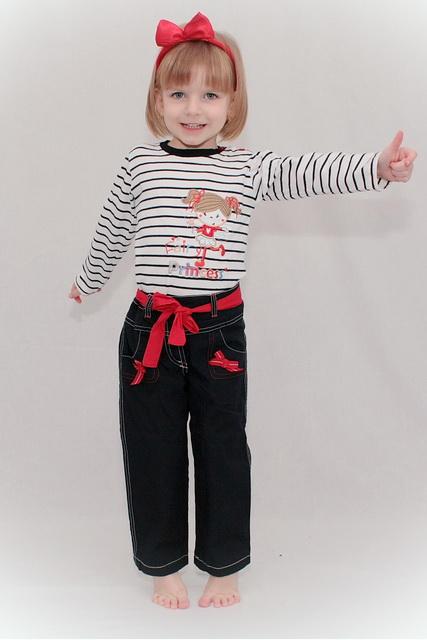 Teplé dívčí kalhoty KIKI - sleva