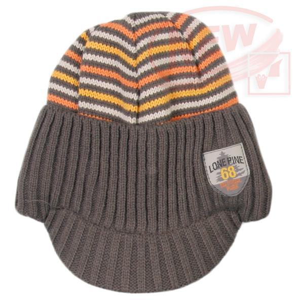 Zimní čepice s kšiltem Coccodrillo
