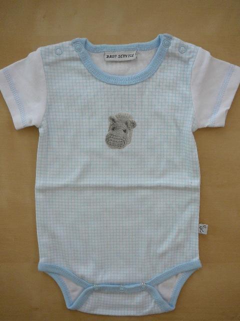 Kojenecké body hroch - Baby Servis