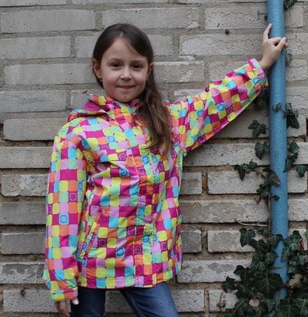 Dívčí podzimní bunda Nickel Sportswear