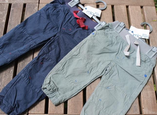 Chlapecké kalhoty Minoti