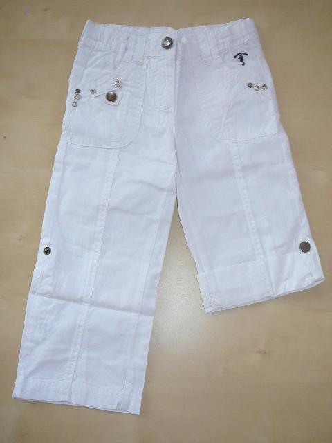 Dívčí plátěné kalhoty Blue Seven - SLEVA